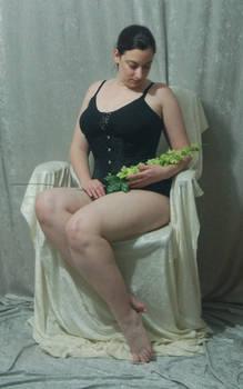 Seated Nouveau Lady 18