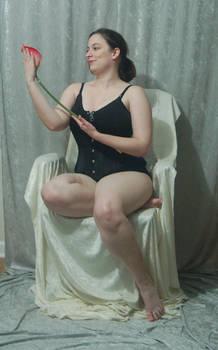 Seated Nouveau Lady 20