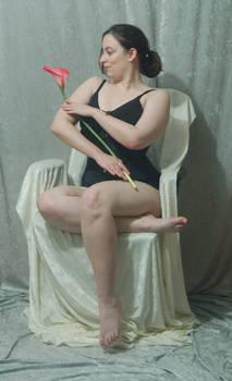 Seated Nouveau Lady 21