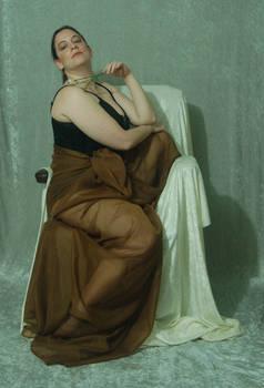 Seated Nouveau Lady 22