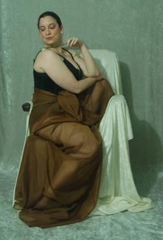 Seated Nouveau Lady 23