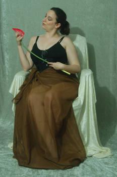 Seated Nouveau Lady 25
