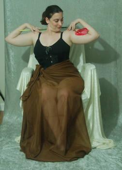 Seated Nouveau Lady 26