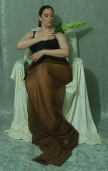 Seated Nouveau Lady 28