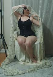 Veiled Nouveau Lady 2
