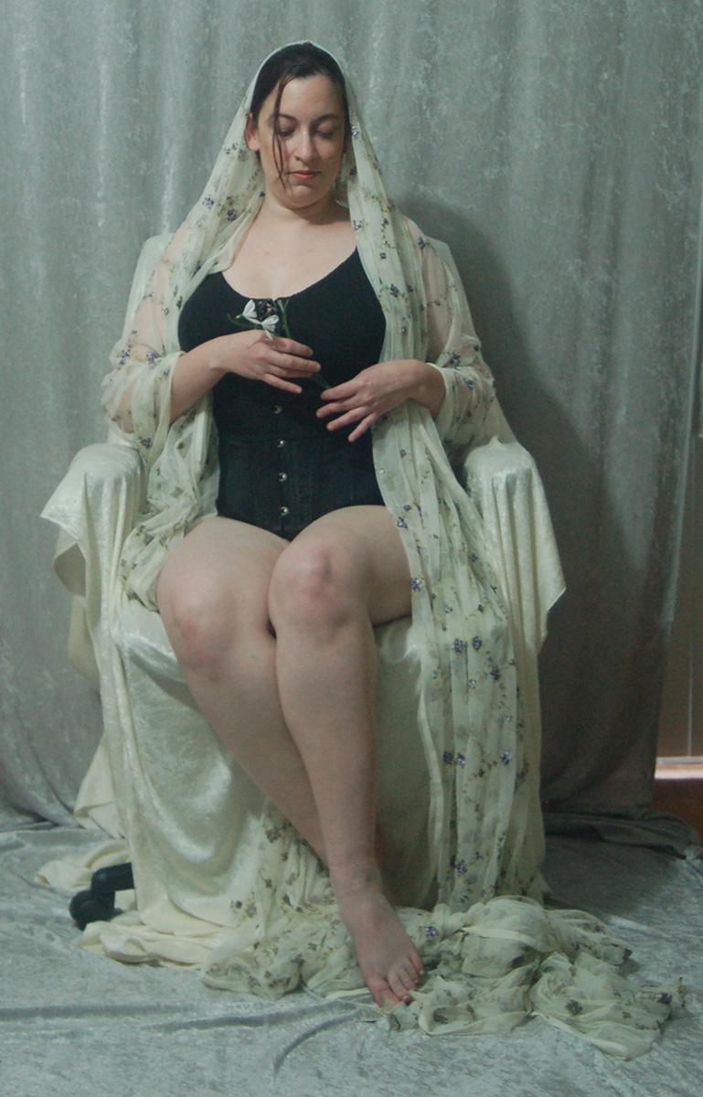 Veiled Nouveau Lady 8