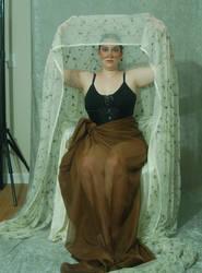 Veiled Nouveau Lady 12