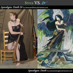 Stock VS Art Feature: Apocalypse Death