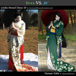 Stock VS Art Feature: Human Naka
