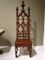 Gothic Revival Chair by themuseslibrary