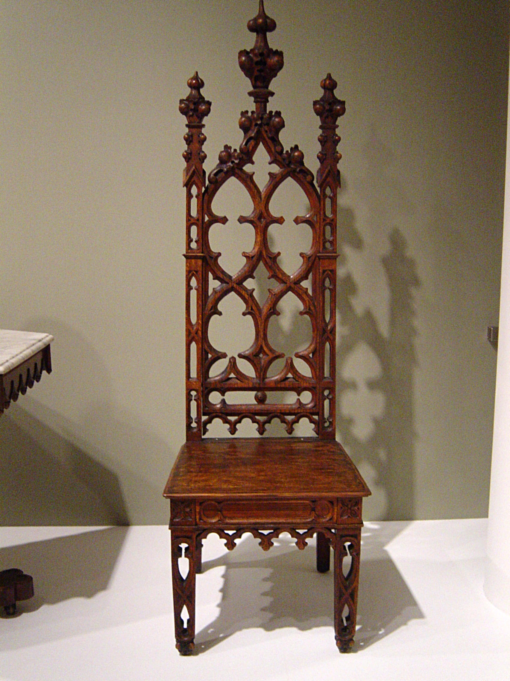 Gothic Revival Chair By Themuseslibrary Gothic Revival Chair By  Themuseslibrary