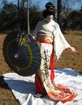 Geisha Parasol Dance 11