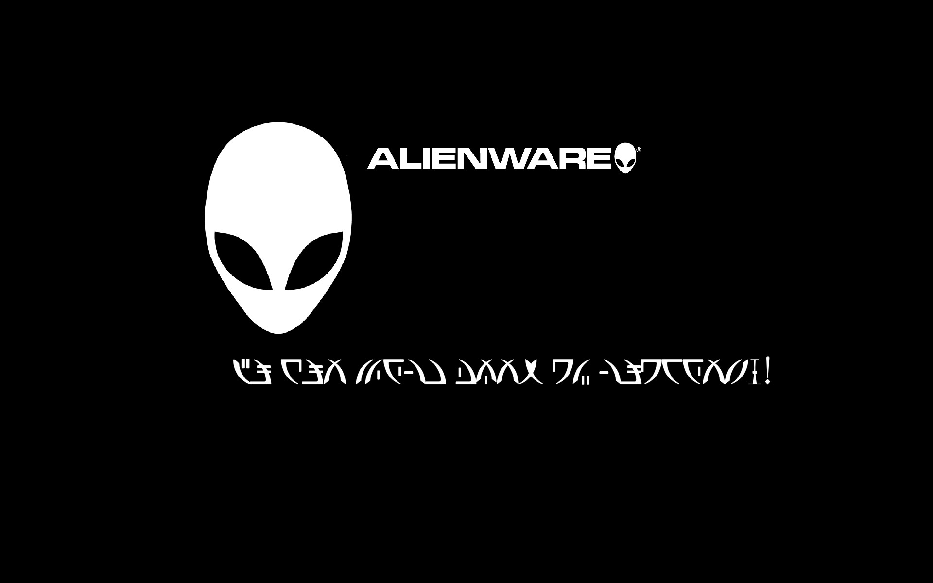Alien Font Wallpaper by KGWilder on DeviantArt