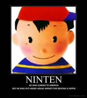 Ninten poster by lightningrod44