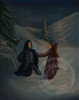 January - Snape and Lily by MrsGraves