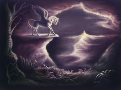 Pegasus by MrsGraves