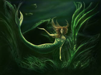Mermaid by MrsGraves
