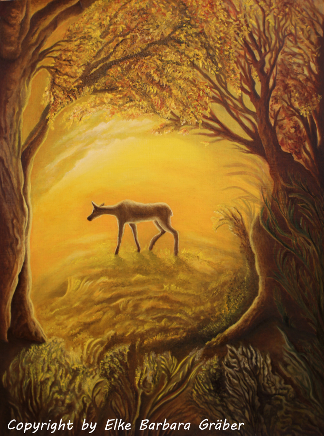 THE DEER by MrsGraves