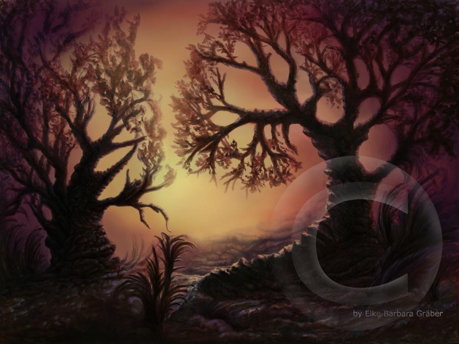 TREES 1 by MrsGraves