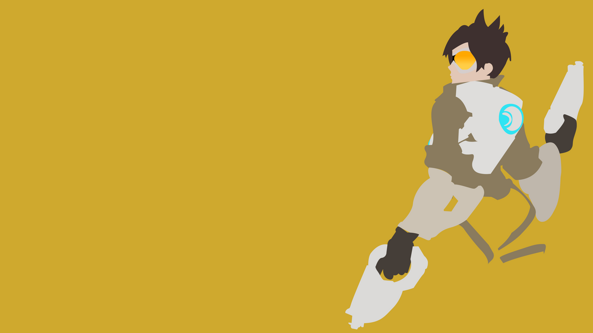 Tracer 4k minimalist wallpaper by sugartitsenpai on deviantart for Minimal art reddit
