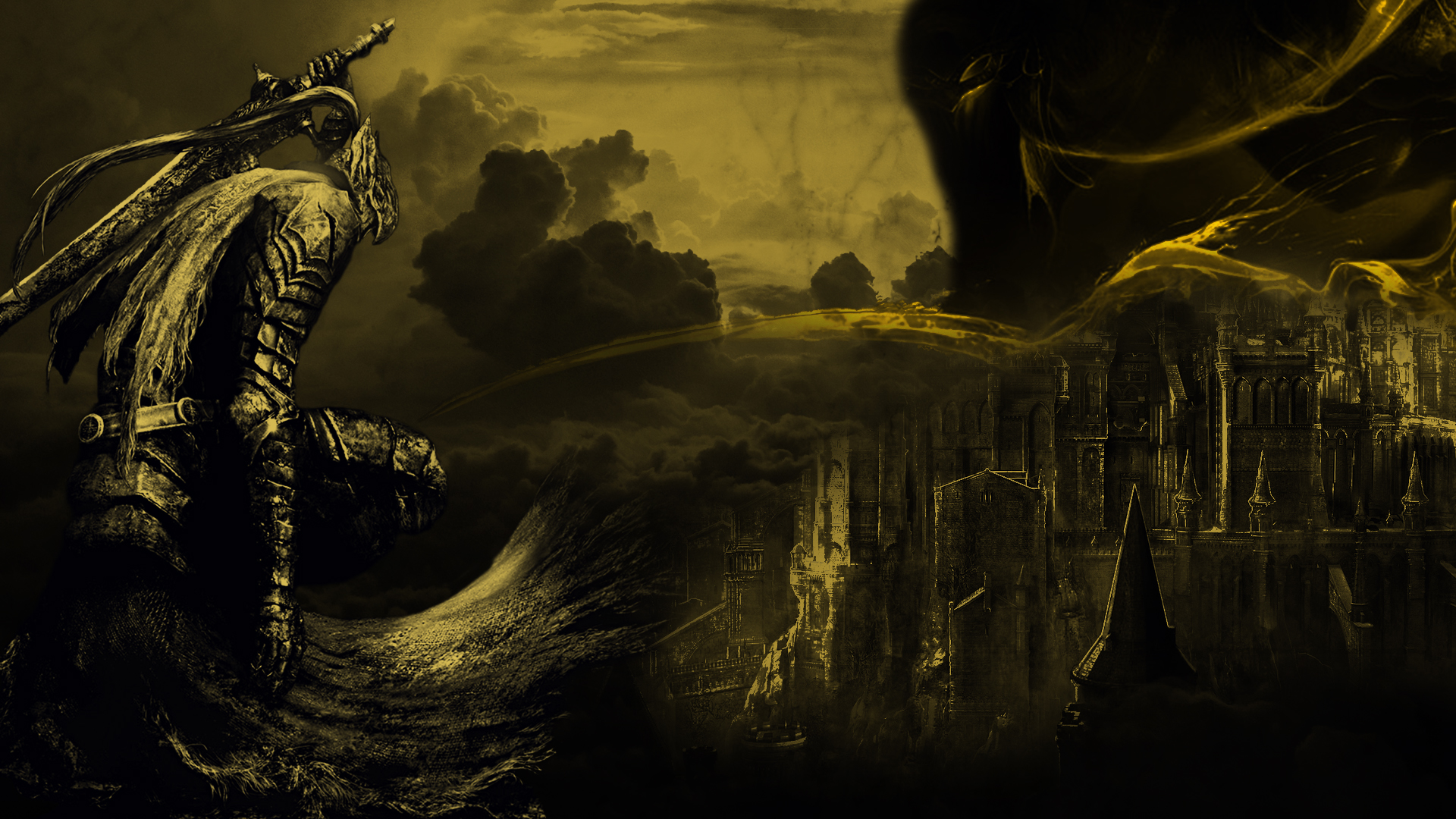Dark Souls 3 Collage Wallpaper By Sugartitsenpai On Deviantart