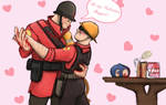 Helmet party valentine