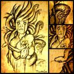 Death of Medusa....finished