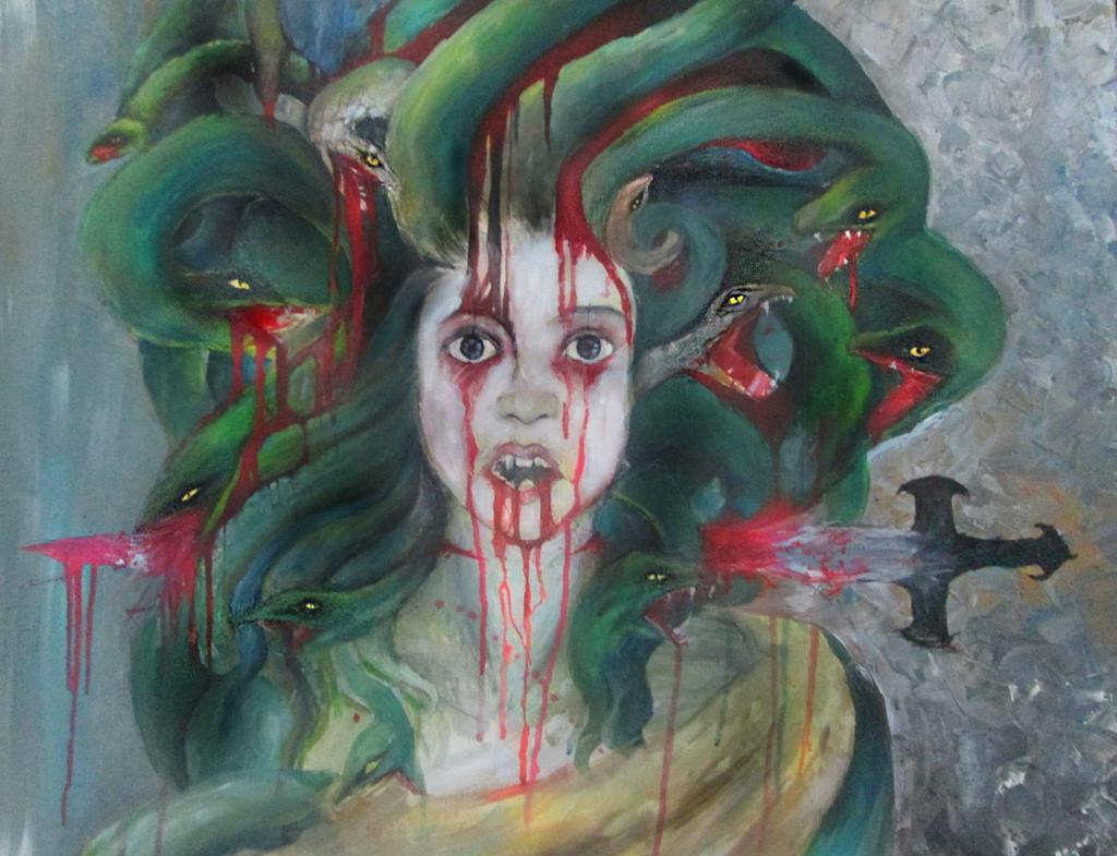 Medusa  by Tudalia