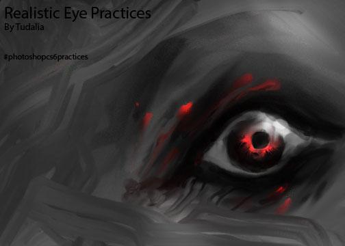 Realistic EyES pRACTICE by Tudalia