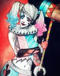 Harley Quinn Concept Art. again by Tudalia