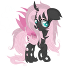 Fluttershy ( changeling version )