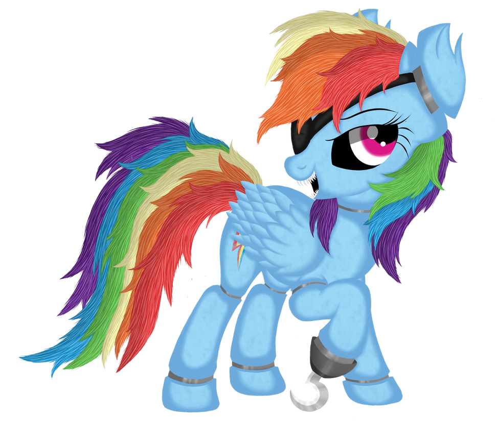 Rainbow Dash Animatronic ( Five Nights at AJ's ) by Law44444