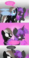 Bug and the Spider (MLP Crossover Comic) by Law44444