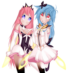 Filp Flappers Cocona and Papika by Law44444
