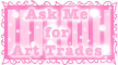 Ask me for Art Trades Stamp by TaCDLunaria91