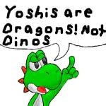 Yoshi is a dragon
