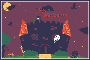 Creepy Halloween by PiXelSam