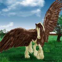 Painted Wings by PurlyZig