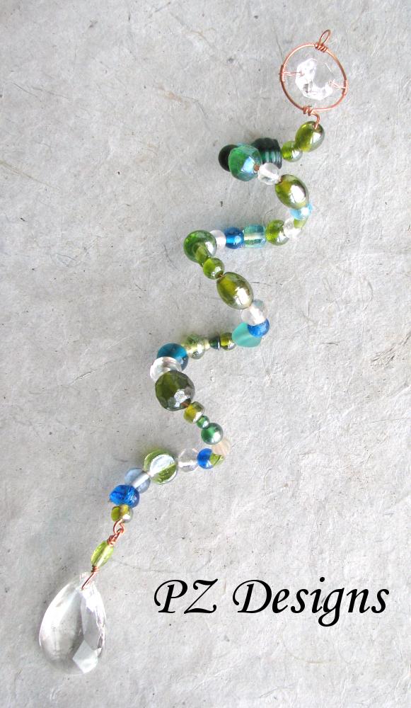 Green Crystal Suncatcher - v.1 by PurlyZig on DeviantArt