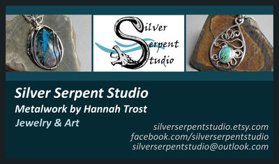 Silver Serpent Studio BC by PurlyZig