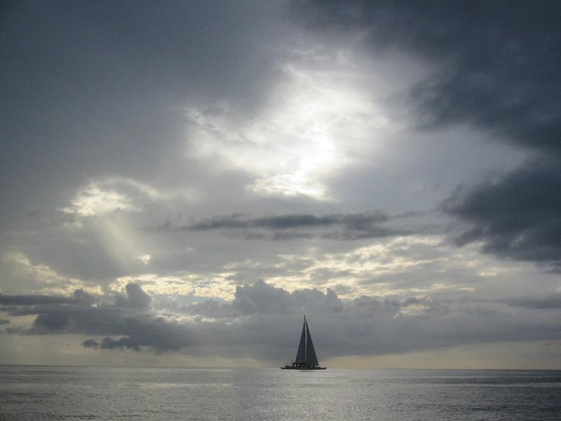 Boat Vs. Nature by javiercaro