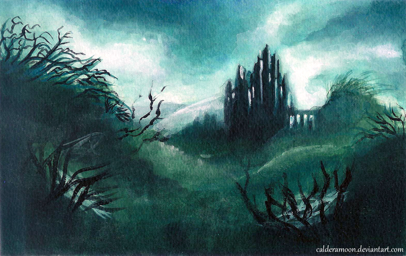 The Hill of Sorcery by calderamoon