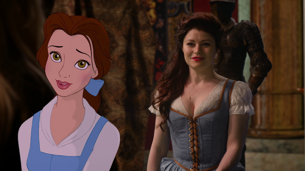 how to draw belle from once upon a time