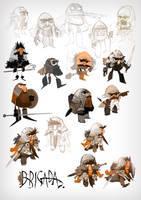 Character design by EnriqueFernandez