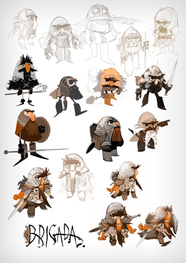 Cartooning Ultimate Character Design Book : Character design by enriquefernandez on deviantart