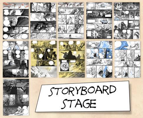 BRIGADA storyboard