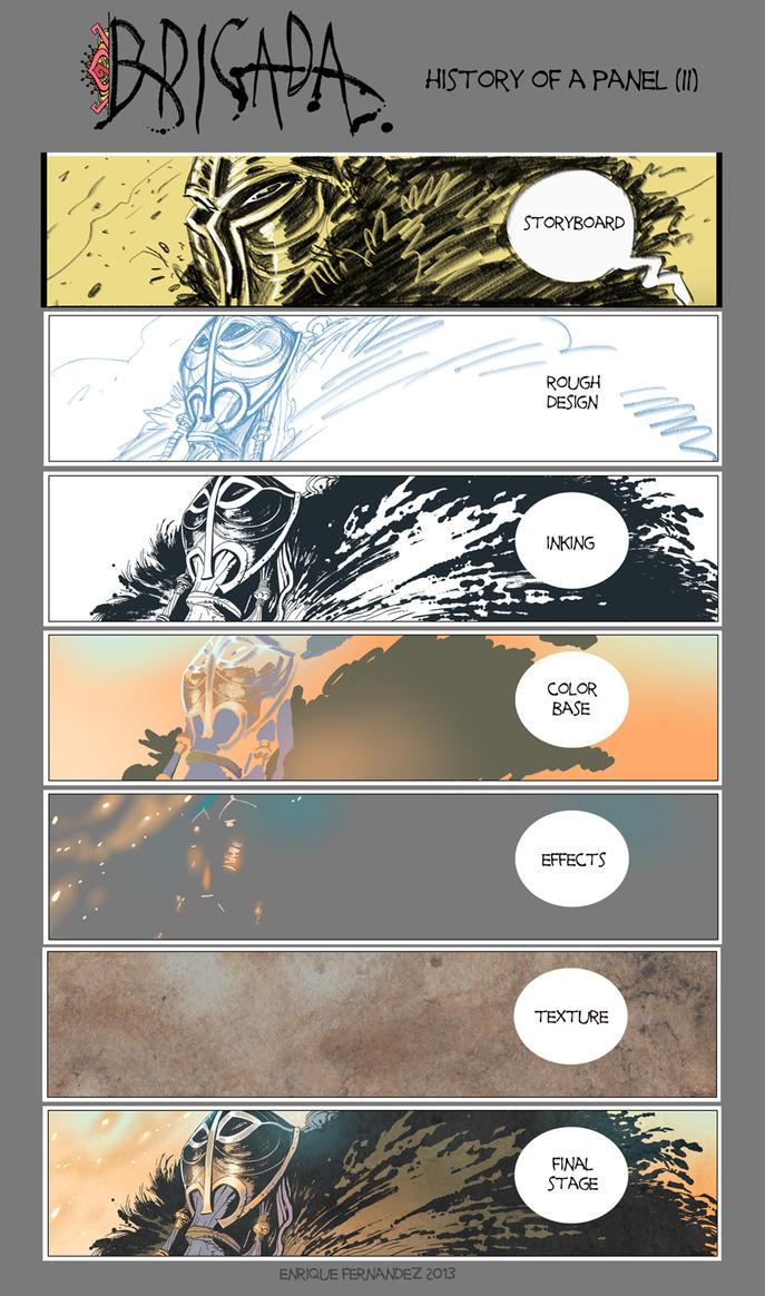 BRIGADA History of a panel (II) by EnriqueFernandez