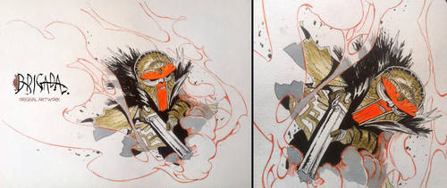 Brigada Original Artwork  04