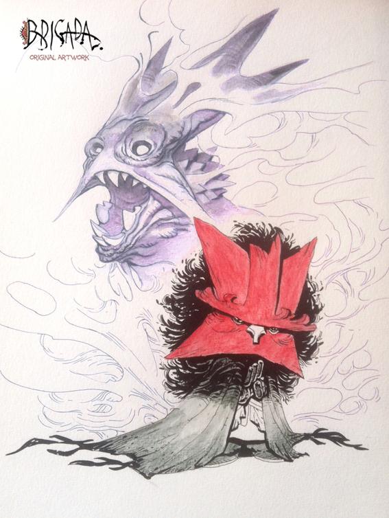 Brigada Original Artwork  02 by EnriqueFernandez