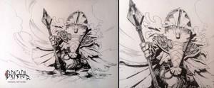 Brigada Original Artwork  05 by EnriqueFernandez